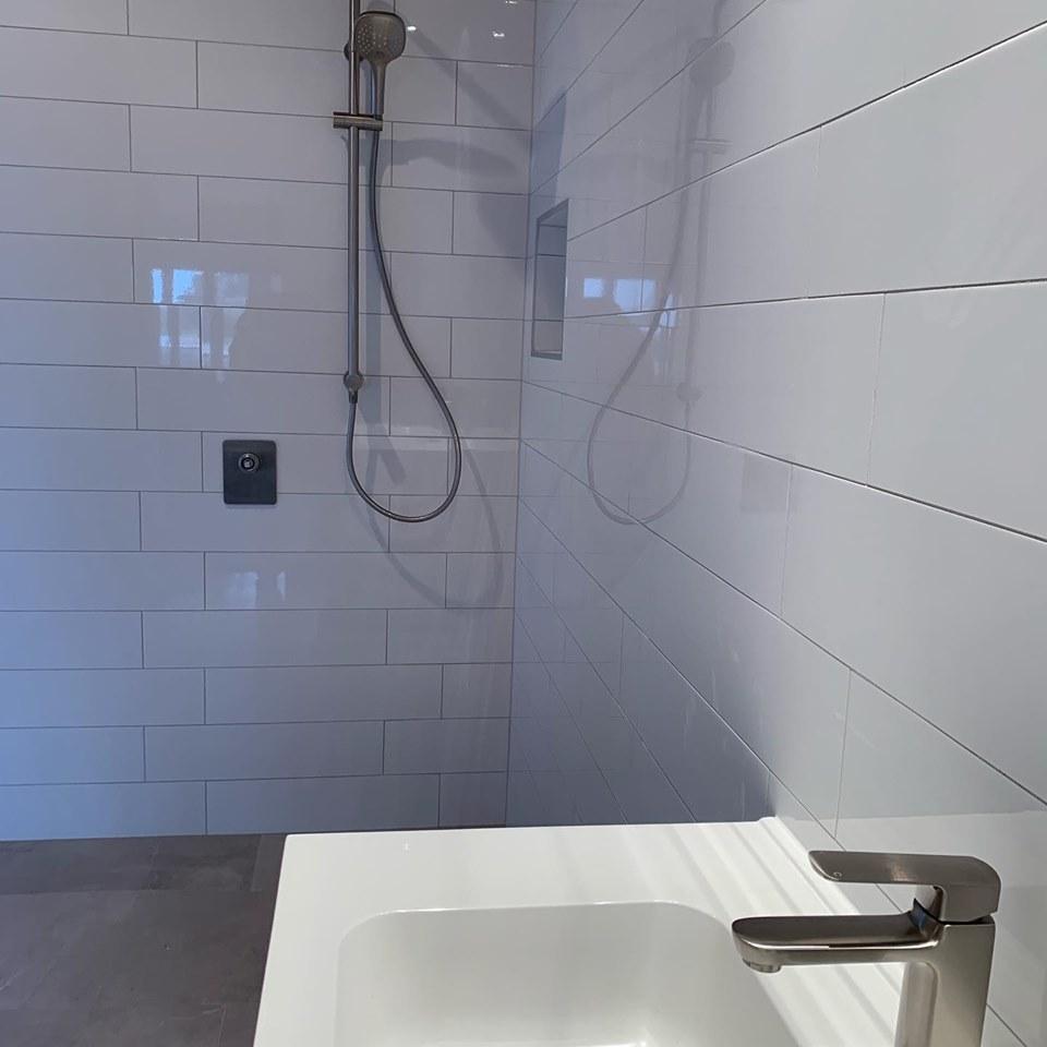 shower upgrade completed